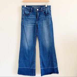 AMERICAN EAGLE OUTFITTERS Wide Leg Denim Jeans